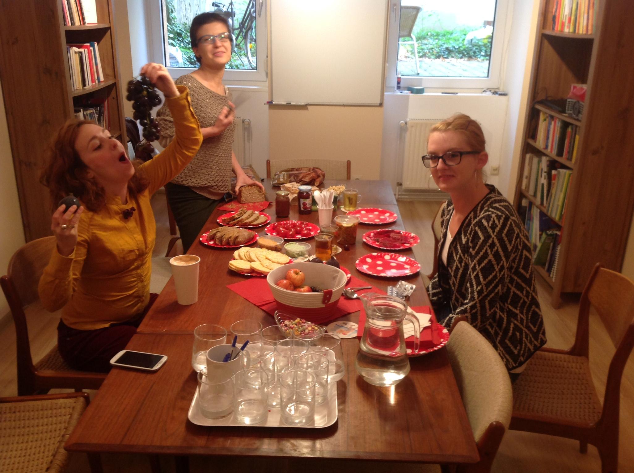 frühstücken auf Polnisch POLKA DOT